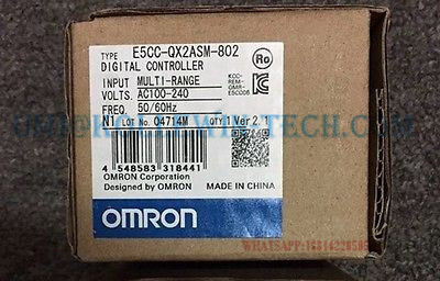 ФОТО New Original Electronic Thermostat E5CC-QX2ASM-802 OMR Temperature Controller