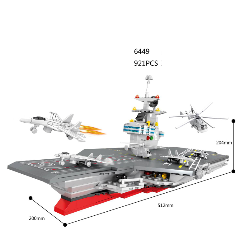 Hot Modern Military Ford Class Carrier Building Block Model Legoes Helicopter Fighter Bricks Toys Collection for Kids Gifts hot modern military china aircraft liangning varyag carrier moc building block 1 525 scale model 1355pcs bricks toys collection