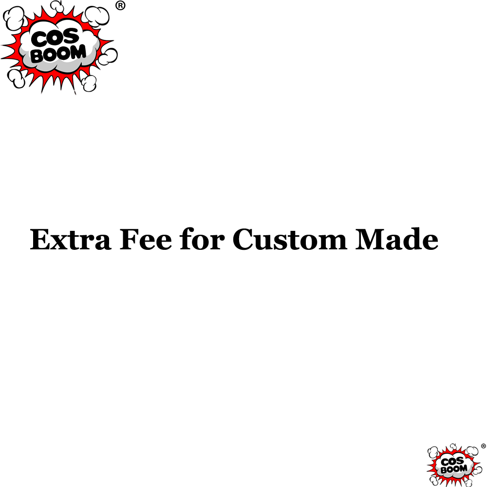 COSBOOM Extra Fee for Custom Made Orders