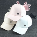 Sweet Cute Bowknot Women's Girl's Solid Sports Snapback Hat Travel Sunshade Cap Adjustable