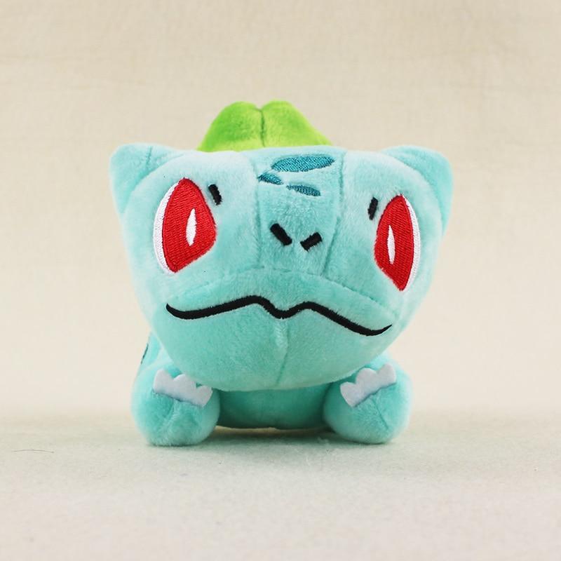 13cm Anime Bulbasaur Plush Toy Kawaii Mini Bulbasaur Stuffed Toy Doll Gift for Kids
