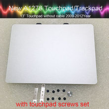 "Pavé tactile authentique pour Macbook Pro 13 ""A1278 pavé tactile Unibody avec jeu de vis 2009 2010 2011 2012 an(China)"