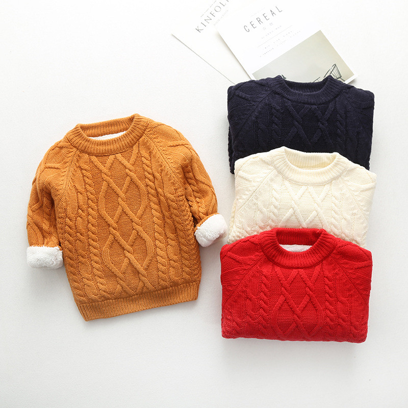 BibiCola Boys Girls Knitted Cardigan Sweater 2018 New Children Sweaters Clothing Kids Autumn Winter Thick Warm Cardigan Outwear knitted rib cuff zip up graphic cardigan