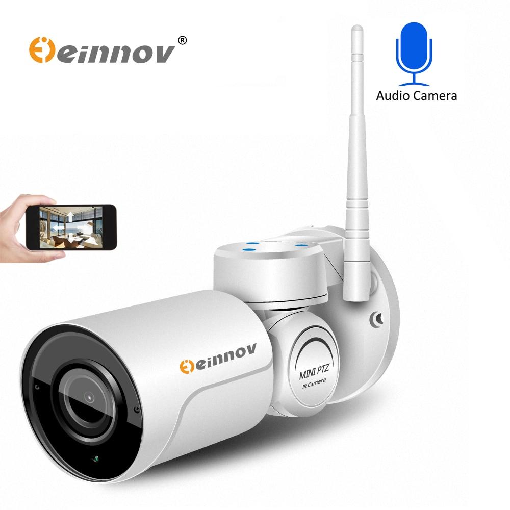 Einnov PTZ Wifi IP Caméra 1080 P 960 P 2.8-12mm Lentille 4 4xzoom Accueil CCTV Sécurité Extérieure vidéo Surveillance Audio Caméra Email Alarme