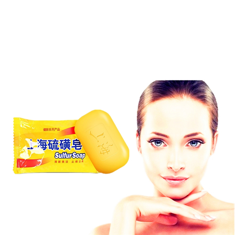 2019 New Active Energy Sulfur Soap For Face & Body Beauty Healthy Care Soap 0 Shipping Fee