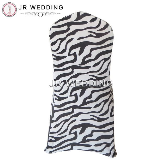 100 pcs new design free shipping animal print zebra spandex chair 100 pcs new design free shipping animal print zebra spandex chair cover for wedding decoration party junglespirit Images