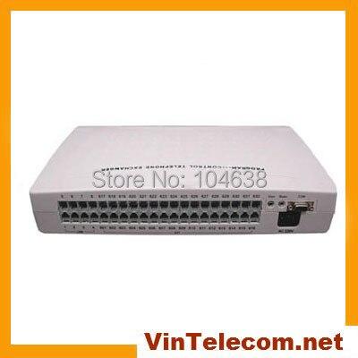 Petit bureau PBX téléphone système VinTelecom CP424 (4 lignes et 24 Poste.) téléphone Système
