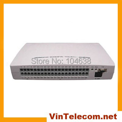Low Cost Small Office Pbx Telephone System Vintelecom Cp424 4 Lines And 24 Ext Phone System