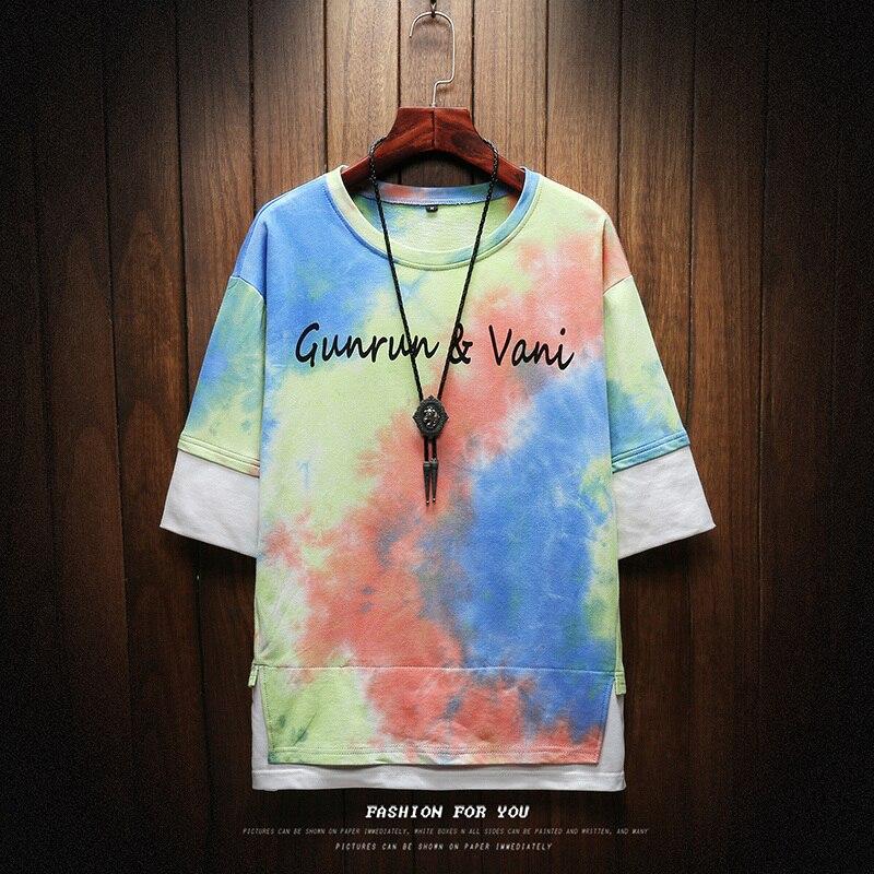 2019 NEW T shirt men Harajuku Streetwear funny fashion t shirt men T shirt hip-hop shirt summer men's t-shirt M-5XL 2