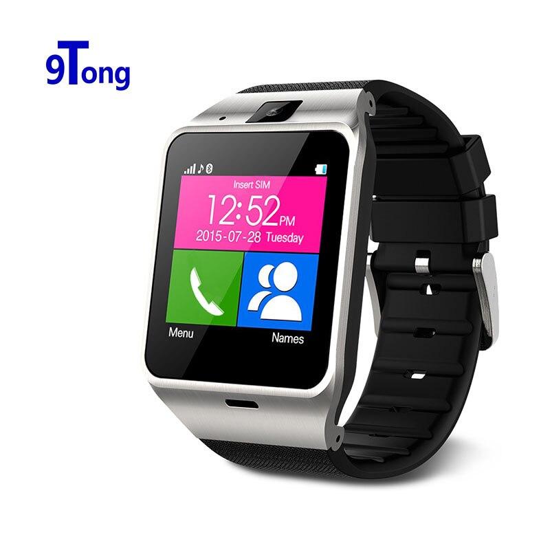 """1.55 """"Câmera GSM cartão SIM Relógio de pulso Smartwatch GV18 reloj inteligente telefone do relógio Inteligente para iPhone Samsung Android Smarthone"""