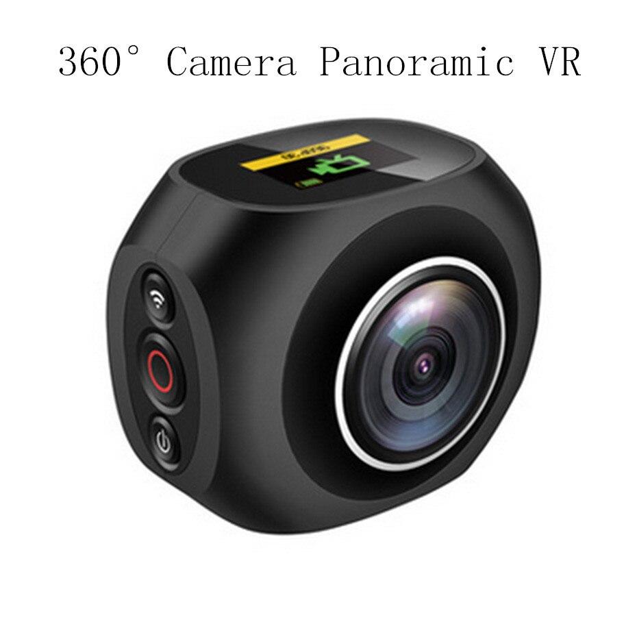 360 Camera Panoramic Vr Mini Handheld Fisheye Dual Lens