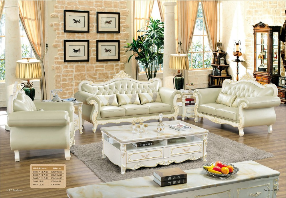 Genuine Leather Sectional Sofa With Chaise Krause Sleeper Popular Antique Italian Furniture-buy Cheap ...