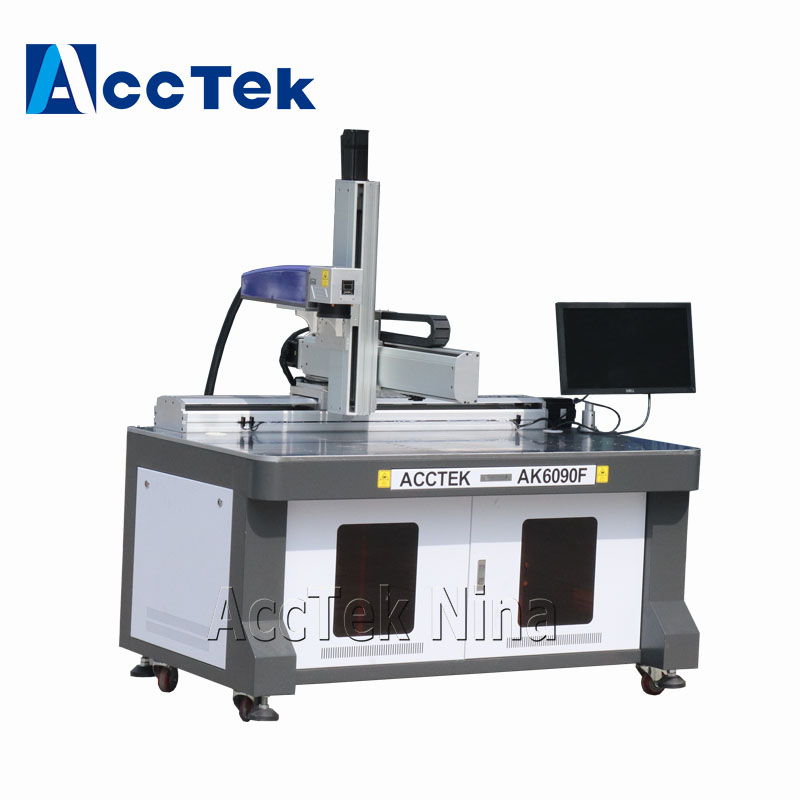 IPG 30W Fiber Laser Marking Machine With 600*900mm Germany Laser Source Laser Metal Marker