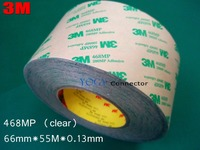3M 468MP, 66mm*55M 200MP Double Sided Adhesive Tape High Temperature UV Waterproof Resistant Automotive Using