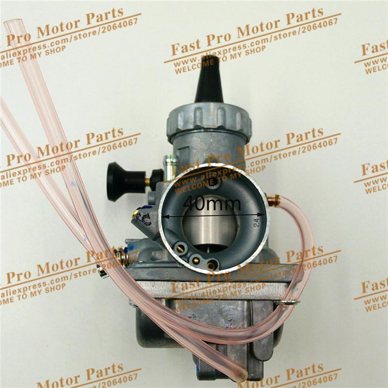 Mikuni VM24 Carburetor Air Filter for Dirt bike/Pit bike, ATV use original 26mm mikuni carburetor for cbt125 cb125t cbt250 ca250 carburador de moto