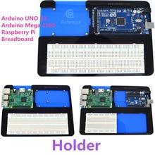 Adeept Titular Acrílico 5 em 1 Placa De Ensaio para Arduino UNO R3 Mega 2560, Raspberry Pi 3