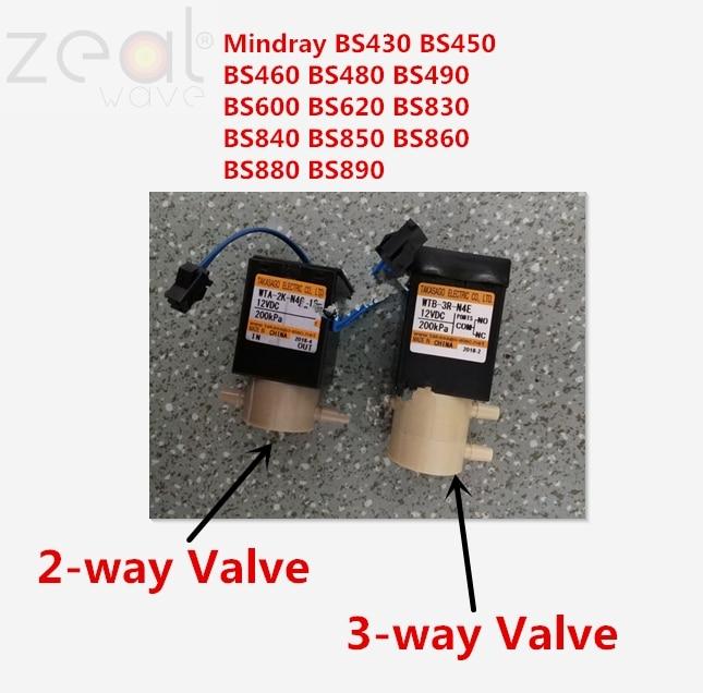 For Mindray BS430 BS450 BS460 BS480 BS490 BS600 BS620 BS830 BS840 BS850 BS860 BS880 BS890 2-way Valve 3-way Valve WTA-2K-N4G-12For Mindray BS430 BS450 BS460 BS480 BS490 BS600 BS620 BS830 BS840 BS850 BS860 BS880 BS890 2-way Valve 3-way Valve WTA-2K-N4G-12