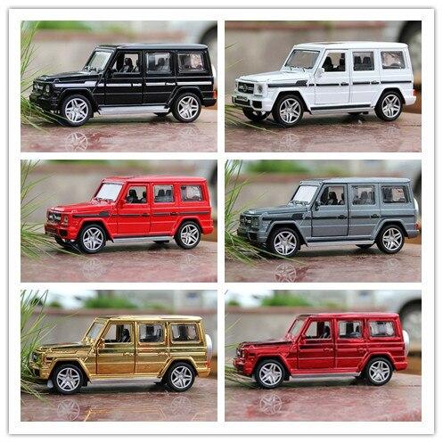 Модели сплава автомобиля 1:32 металл позолоченный G65 звук и свет, чтобы открыть дверь, чтобы отступить модели автомобиля игрушечную машинку