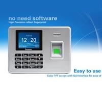 DANMINI A3 Biometric Fingerprint Time Attendance The USB Drive Clock Recorder Voice Reader Machine