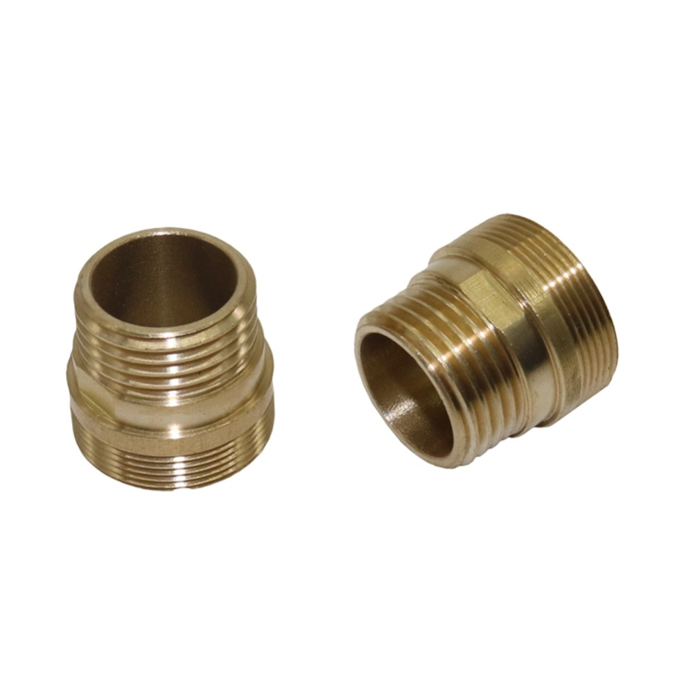 Plumbing Pipe Fitting Female M22/Male M24 To 1/2 Inch Thread Brass Pipe Connectors Joint Tube Adapter 1 Pc