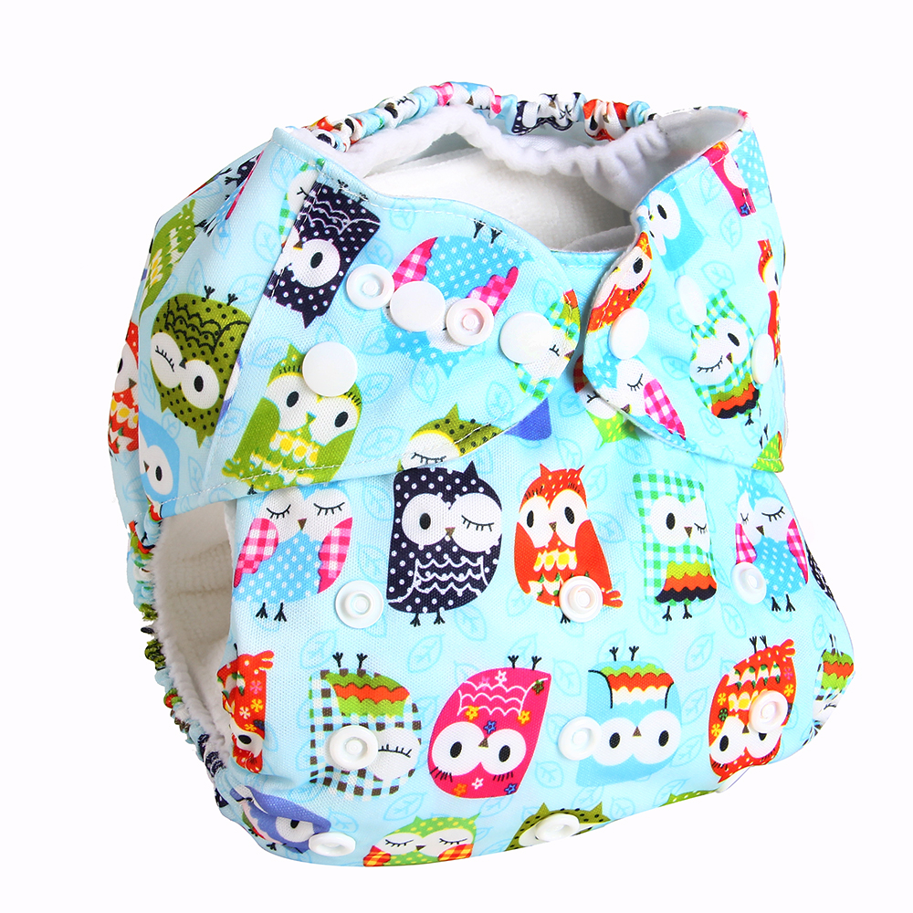 Bear Leader Baby Nappies 2017 Cartoon Unisex One Size Baby Washable Cloth Nappy Reusable Pocket Diaper Suit 0-2 years 3-15kg