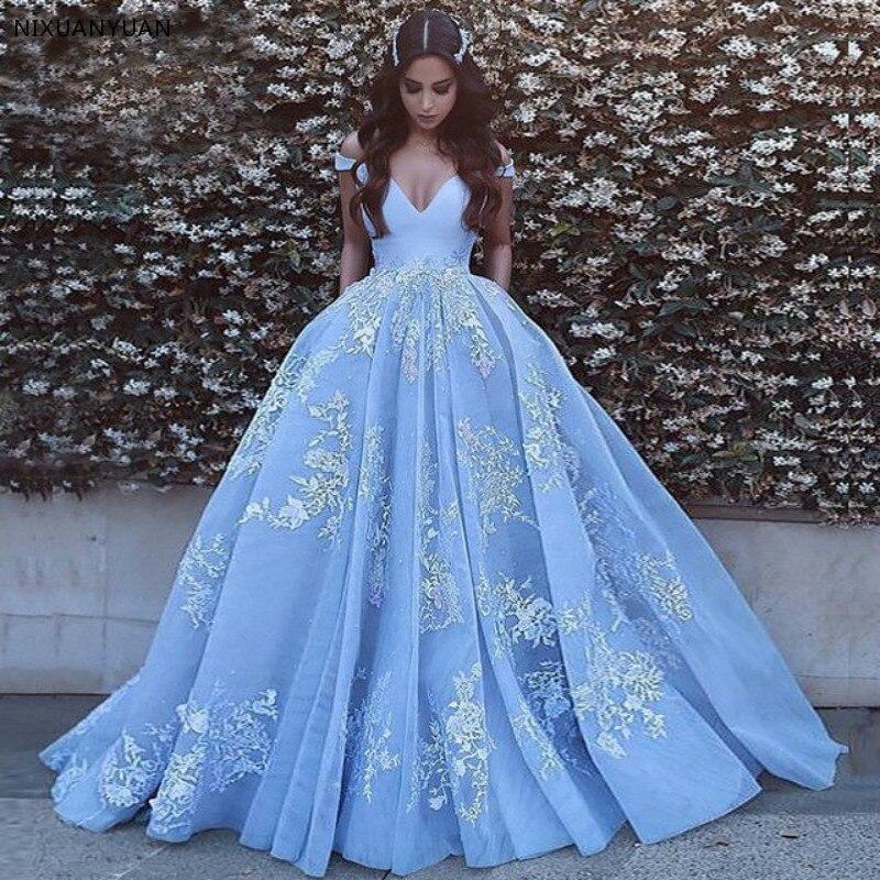 Dubai Abendkleider 2019 Arabic   Evening     Dress   Vestidos De Fiesta De Noche Vestido De Festa Longo