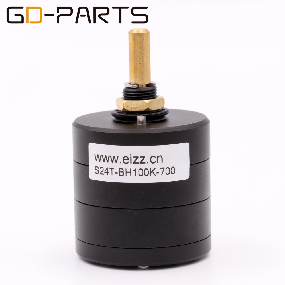 все цены на EIZZ LOG 100K 24 Steps Stereo Attenuator Serial Type Volume Potentiometer Hifi Speaker Turntable CD DAC Amplifier Volume Control онлайн