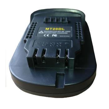 Davupine MT20DL батарея конвертер адаптер USB зарядное устройство для DeWalt инструмент преобразования Makita 18 В литий-ионный аккумулятор BL1830 BL1860 в DCB200