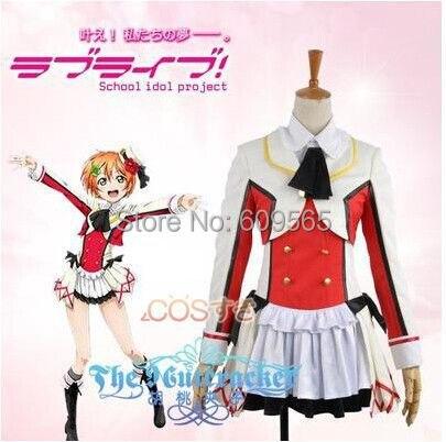Здесь продается  Free Shipping! Love Live! Rin Hoshizora Cosplay Costume ,Perfect Custom For you!  Одежда и аксессуары