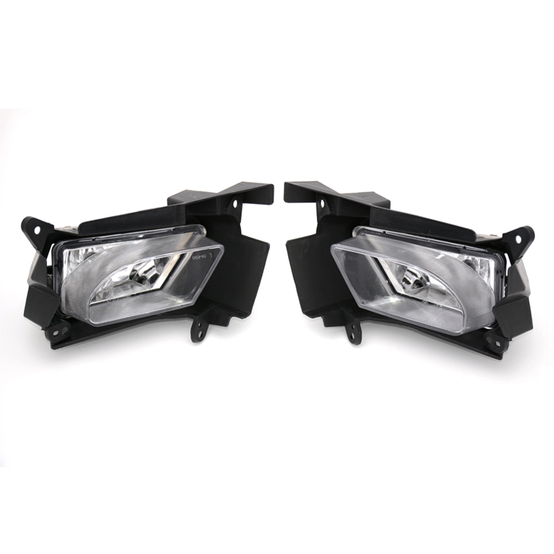 цена на 2 Pcs/Pair RH and LH Clear bumper fog lights driving lamps with bracket for Mazda 3 2008-2012