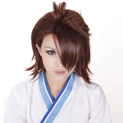 Tiger & Bunny Kotetsu T.Kaburagi Dark Brown Cosplay Wig Wigs hair