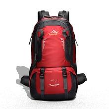 Купить с кэшбэком 40L Men Backpacks Waterproof Nylon Outdoor Backpack Hiking Bags Camping Sports Cycling Large Capacity Wear-resisting travel bags