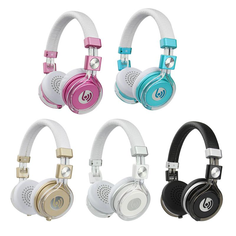 Beevo HM770 HIFI Stereo Gaming Headphone Foldable Headset Music Earphone For Phone Black/White/Blue/pink/Gold ...