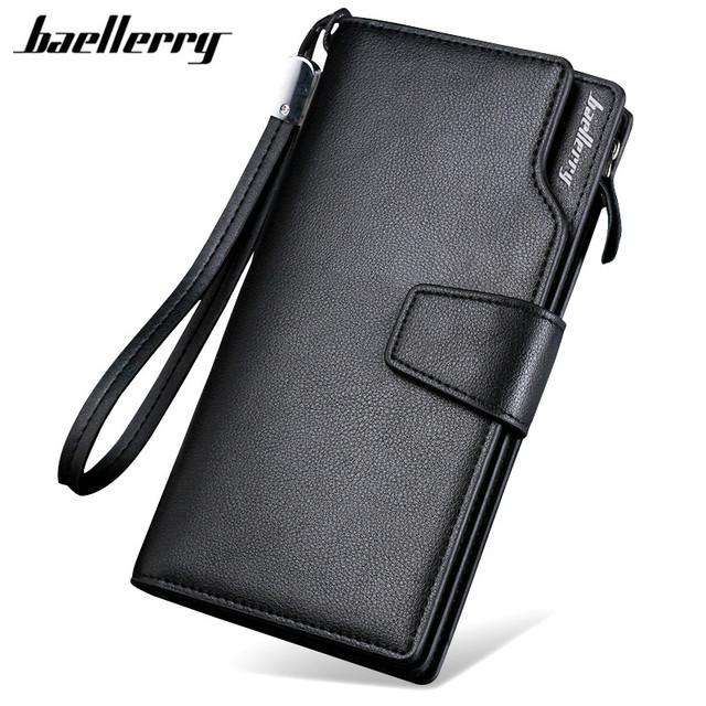 Clutch Leather Zipper Wallet
