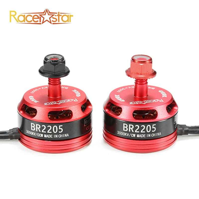 Original Racerstar Racing Edition 2205 BR2205 3000KV 2-4 S Motor Brushless para X180 X210 X220 FPV Racing Frame para RC Drones DIY