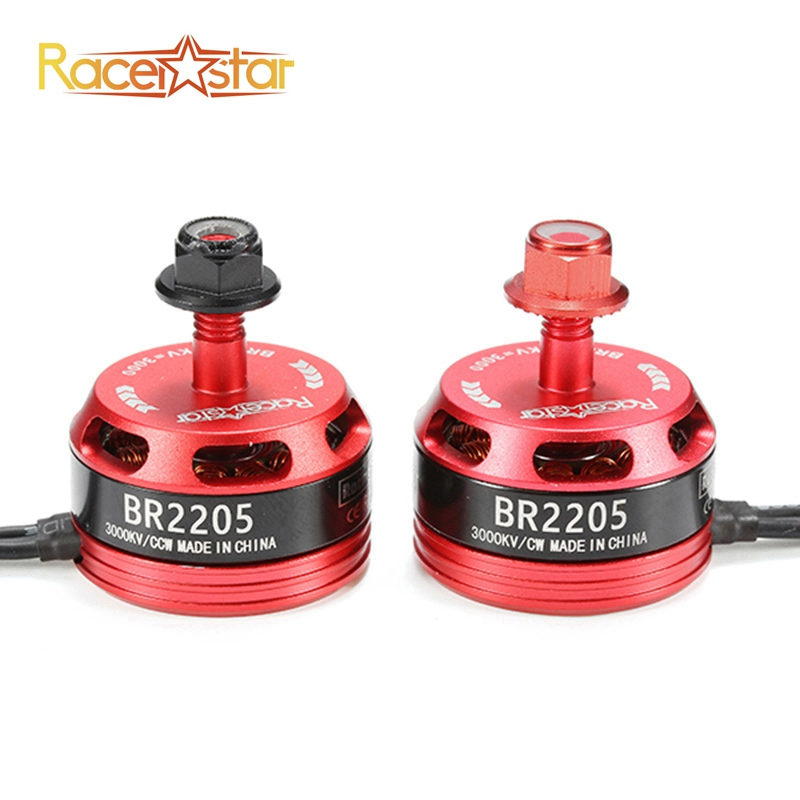 купить Original Racerstar Racing Edition 2205 BR2205 3000KV 2-4S Brushless Motor For X180 X210 X220 FPV Racing Frame For RC Drones DIY онлайн