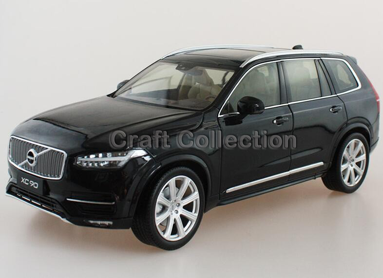 * Black 2015 1/18 Volvo XC90 SUV Die-Cast Model Car Luxury Miniature Toys Scale Models Alloy Gifts