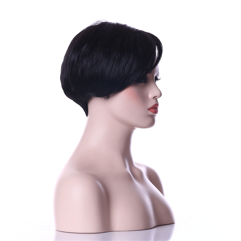 HAIRJOY Woman Synthetic Wigs Natural Black Hair Wig 6 Colors Available Free Shipping 3