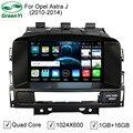 Quad Core 5.1.1 Puro Android Carro DVD Player De Vídeo Do PC Para Opel Astra J Com GPS Do Bluetooth DVR 4G WiFi HD 1024*600 Pixel