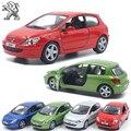 Modelos a Escala 1:32 KINSMART Metal Troquelado 2001 Peugeot 307 XSI/juguetes para regalos de los niños para las colecciones