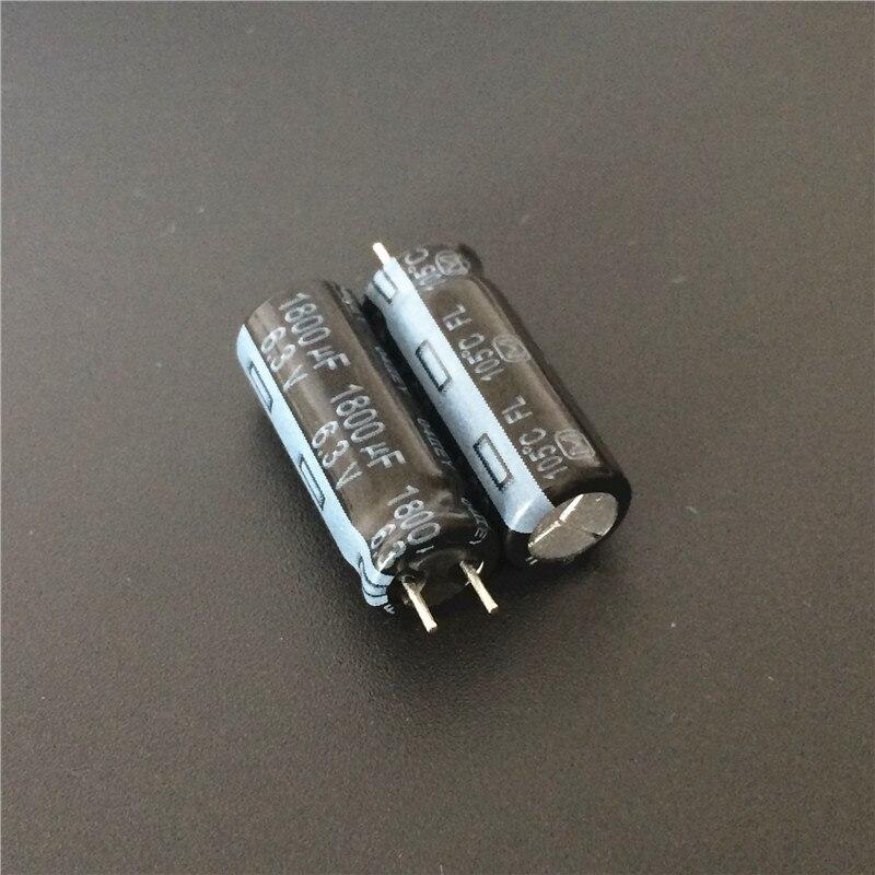 200pcs 1800uF 6 3V FL Series 8x20mm Original Low ESR 6 3V1800uF motherboard Capacitor