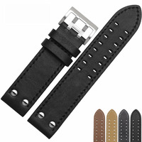 NESUN Free Shipping Watch Band 20 mm Leather Watchband Strap For Men&Women Wholesale/Retail