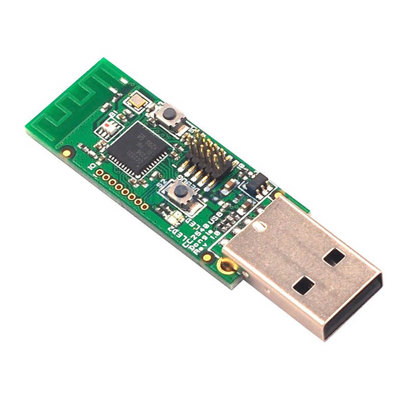 Original Wireless Zigbee CC2531 Sniffer Bare Board Packet Protocol Analyzer  Serial Port Module USB Dongle Capture Packet