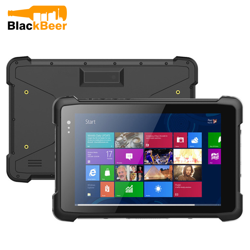 WinPad W81 8 Inch 2in1 IPS Tablet Phone Windows 10 OS 2GB RAM 32GB ROM WiFi IP67 Rugged Cellphone 6000mAh Quad Core Mobile Phone image