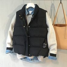 New traditional vest Parka Fashion Simple collar outerwear stree type feminine Autumn Winter finest present Clothing P1008