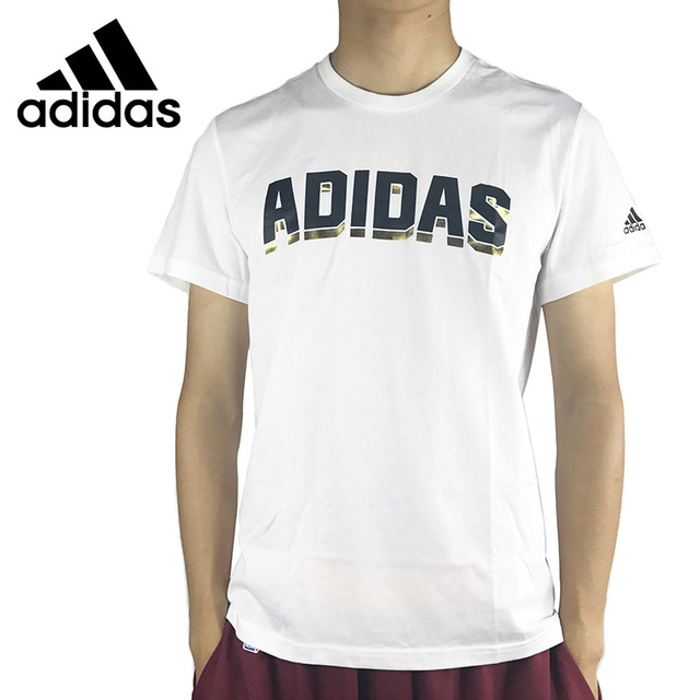 US $56.46 |Original New Arrival 2017 Adidas GFX SS TEE PM Men's T shirts short sleeve Sportswear in Skateboarding T Shirts from Sports & Entertainment