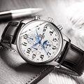 Оригинальные карнавальные модные мужские часы от ведущего бренда, многофункциональные автоматические часы, мужские водонепроницаемые све...