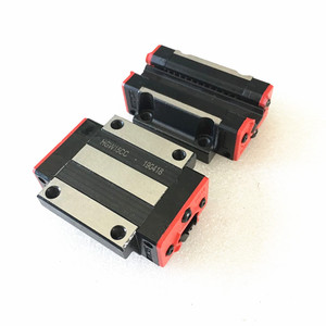Image 4 - xy table 2 HGH15 HGR15 linear guide rail 15mm guideways rod set +4 pc slide bearing block  HGH15CA  /flang HGW15CC for CNC parts