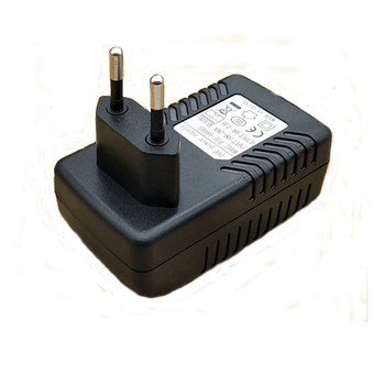 цена на 48V 0.5A  POE Wall Plug POE Injector Surveillance CCTV Security Ethernet Adapter IP Camera  24W PoE Power Supply US EU Plug