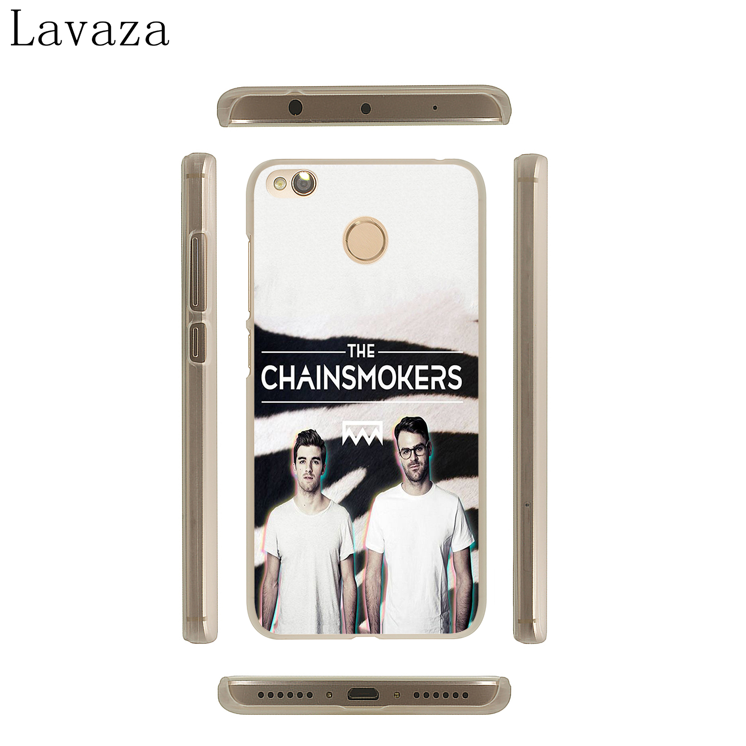 Lavaza The Chainsmokers Phone Cover Case for Xiaomi MI A2 lite A1 8 SE 6X 5X MIX 2S MiA2 Redmi 4A S2 Note 4 4X 6 5 Pro 5A Prime in Half wrapped Case